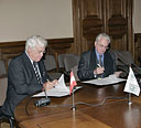 Agreement for the development of long term programmes between the State Hermitage Museum (St. Petersburg, Russia) and the Museum of Art History (Vienna, Austria)