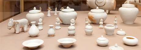 "Opening of the exhibition ""Born in flames. Korean ceramics from the National Museum of Korea"""