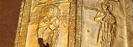 Transfer of a Copy of the Skvyra Reliquary Stored in the State Hermitage, Armenian Apostolic Church