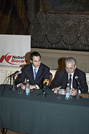 Signing of the Agreement between the State Hermitage and the Nobel Biocare Company