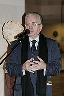 The Carl Faberge Award Given to Director of the State Hermitage Mikhail Piotrovsky