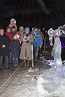Ice Sculpture Competition - the Christmas Symphony Theatre
