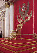 The Inauguration of the St George Hall after the Reconstruction of the Throne Dais