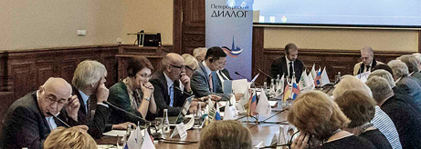 Meetings of the Culture Working Group during the St. Petersburg Dialogue Forum