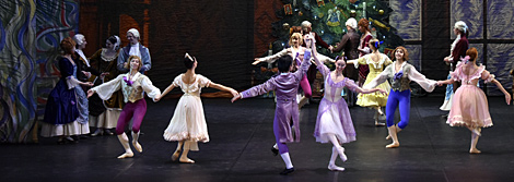 Performance of The Nutcracker in the Hermitage Theatre for Children with Special Needs