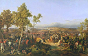 Battle of Tarutino. The Hermitage continues to present battle paintings by Peter von Hess