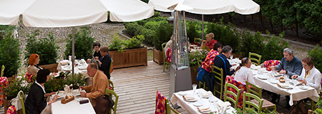 Opening of the Summer Terrace at the Mein Herz Restaurant