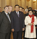 Visit of the President of Indonesia Susilo Bambang Yudhoyono to the State Hermitage